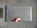 Gravestone of Gunner Colin Bishop and WREN Rae Patricia Bishop (nee McQuilkan), Waipawa Cemetery, Waipawa, Hawke's Bay. Image kindly provided by Patrick Bishop (December 2020).