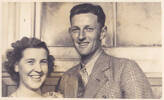 Photograph of Colin and Pattie Bishop (nee McQuilkan). Image kindly provided by Patrick Bishop (December 2020).