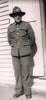 Photograph of Leonard Hattaway at Papakura Camp, April, 28 1940. Image kindly provided by Raewyn Pukas (January 2021).