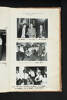 """New Years Eve Dance held in the JRC 1 January 1963. Pte Wichman, Cpl H. Temu, Pte Manahera. Limbo Rock. LtoR: Pt E. Leah, Lcpl Apiata, Mrs Apiata, Pte P. Savage, Pte Anderson, Cpl W. Hewlett and Mrs Hewlett"" 1st Battalion, New Zealand Regiment - Scrapbook regarding Terendak Camp, Malacca, Malaya, 1961 - 1963. Auckland War Memorial Museum Library. MS-2010-26-282."