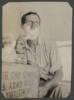 Lt. N.G. Grant. Romani. 1916, shaving. Williams Album, Auckland War Memorial Musuem, PH-ALB-214-p13-2.