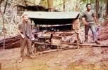 """Ptes J. Richardson & B. Brown 10 Pl """"D"""" Coy 2NZ Regt. Image taken during Malayan Emergency 1959-1960. © Peter Gallacher."""