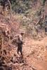Pte Tony Frost ready for patrol. Image taken during Malayan Emergency 1959-1960. © Peter Gallacher.