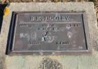 Gravestone of Leading Aircraftman Bruce Kieran Dooley, Oamaru Lawn Cemetery, Oamaru, Waitaki. Image kindly provided by John Forrest (July 2021).